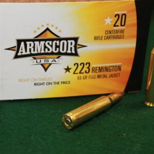 Armscor® .223, 55gr Full Metal Jacket Ammunition