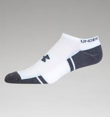 UA's Heatgear® Resistor III No Show socks