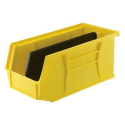 SecureIt® Large Storage Bin With Divider